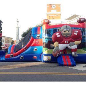 Football Combo Inflatable Party Rental Statesboro GA