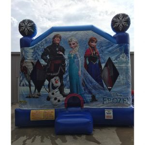 Frozen Themed Inflatable Party Rental Beaufort SC