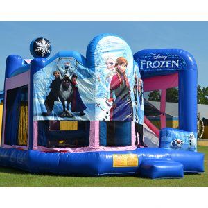 Frozen Combo Untit Inflatable Rental Bluffton SC