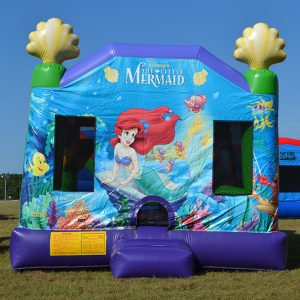 Little Mermaid Party Inflatable Rental Beaufort SC