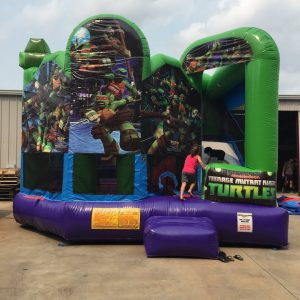 TMNT Inflatable Combo Rental in Statesboro GA