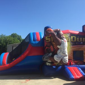 Basketball Combo Inflatable Rental Statesboro GA
