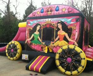Princess Enchanted Inflatable Rental Statesboro GA