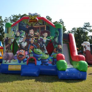 Toy Story Inflatable Combo Rental in Beaufort SC