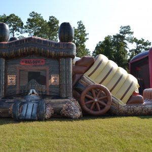 Western Themed Inflatable Rental in Beaufort SC