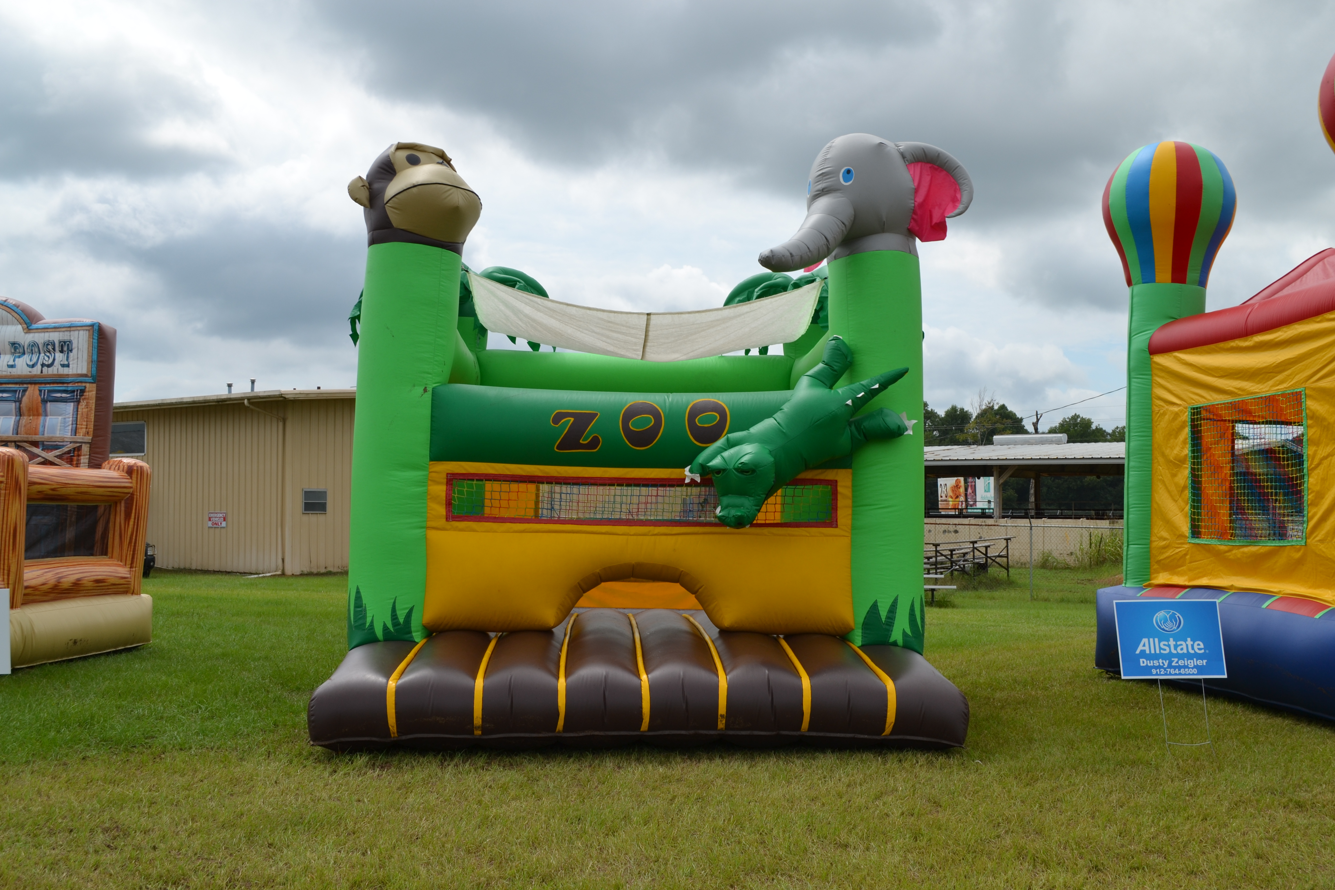 Zoo Toddler Bounce House Rental Bluffton SC